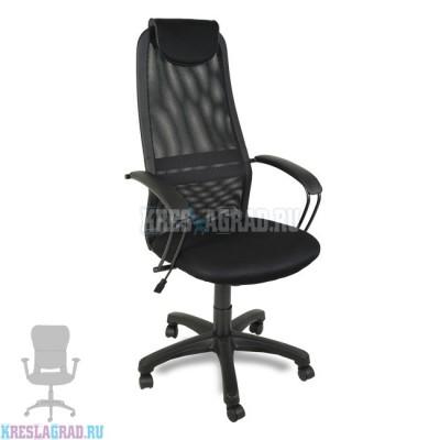 Кресло Элегия (сетка черная)
