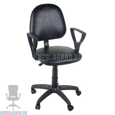 Кресло Фаворит (кожзам черный)