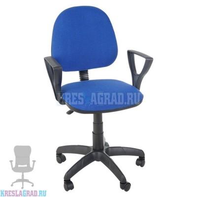 Кресло Фаворит (ткань сине-черная)