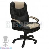 Кресло Фортуна 5 (50) (кожзам Атзек комбинированный, черно-бежевый)