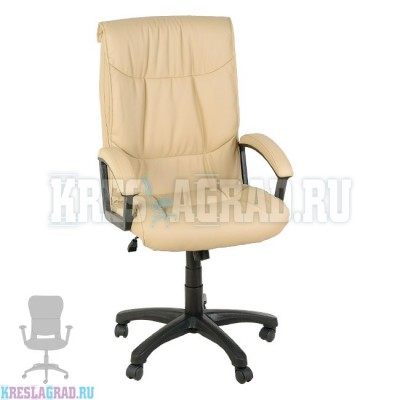 Кресло Фортуна 5 (6) (кожзам Атзек бежевый)