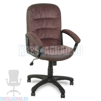Кресло Фортуна 5 (62) (ткань вельвет коричневый)