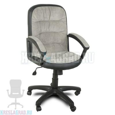 Кресло Фортуна 5 (62) (ткань вельвет серый)