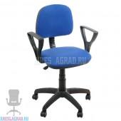 Кресло Форум 2 (ткань сине-черная)