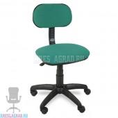 Кресло Лига (ткань зелено-черная)