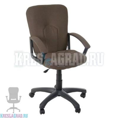 Кресло Премьер 5 Н (ткань темно-коричневая)