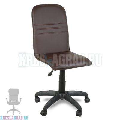 Кресло Премьер 6 (кожзам Атзек коричневый)