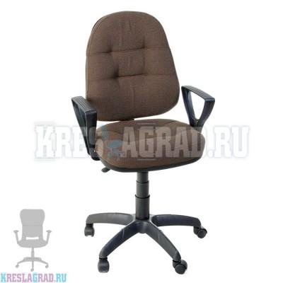 Кресло Престиж Поло Н (ткань темно-коричневая)