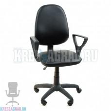 Кресло Престиж Поло (кожзам черный)