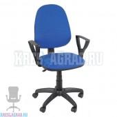 Кресло Престиж Поло (ткань сине-черная)