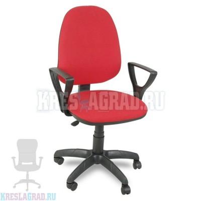 Кресло Престиж Поло (ткань красно-черная)
