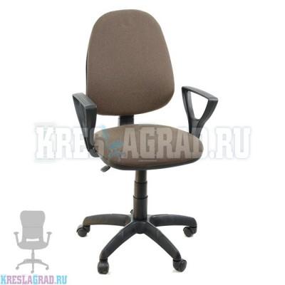 Кресло Престиж Поло (ткань темно-коричневая)