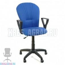 Кресло Престиж Варна (ткань сине-черная)
