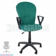 Кресло Престиж Варна (ткань зелено-черная)