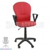Кресло Престиж Варна (ткань красно-черная)