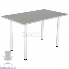 Стол прямоугольный ЛДСП (столешница 22 2369/S Ракушки, подстолье белое)