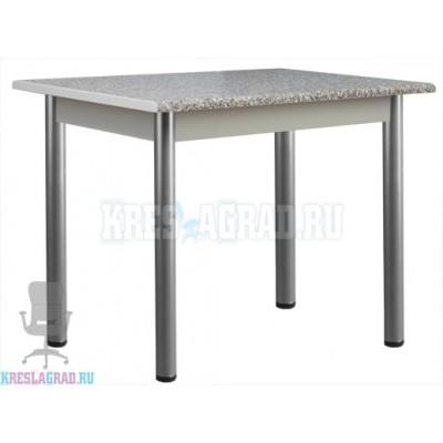 Стол Мартин 1200 (каркас металлик, пластик гранит)