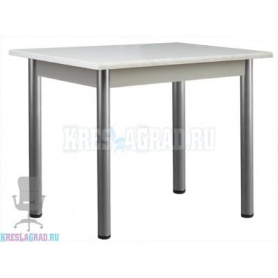 Стол Мартин 1200 (каркас металлик, пластик мрамор)