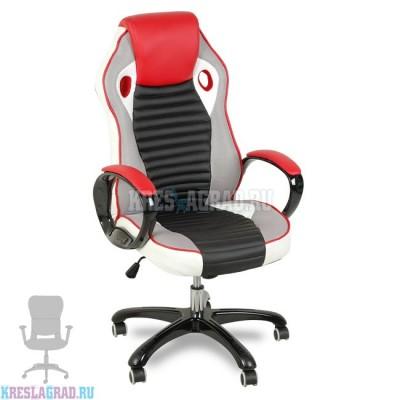 Кресло XY-7185 (комбинированное, пластик черный)