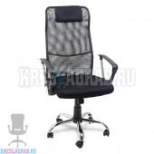 Кресло Y-9061 (сетка черная, хром)
